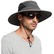 EINSKEY Sun Hat for Men/Women, Outdoor Sun Protection Wide B